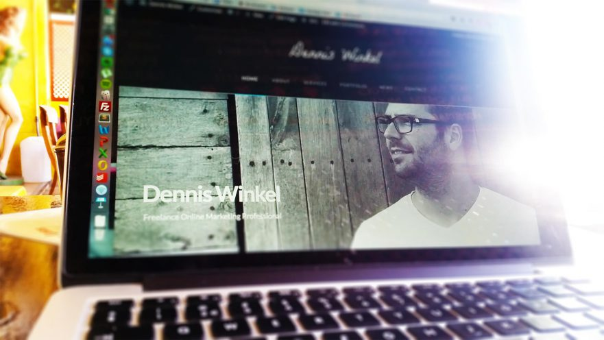DennisWinkel.com is live